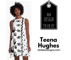 New Design EYE EYE EYE by Teena Hughes