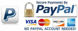 Paypal and Credit Cards image