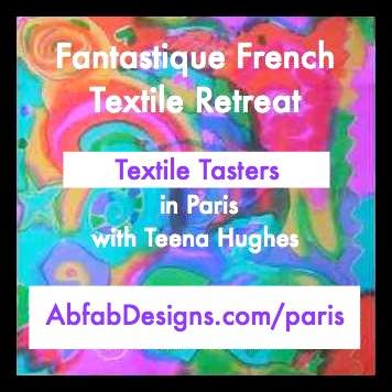 Textile Tour in Paris with Teena Hughes