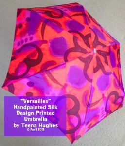 Versailles Mini Folding Umbrella
